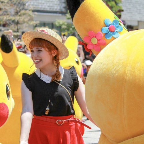 Miki Clark pikachu