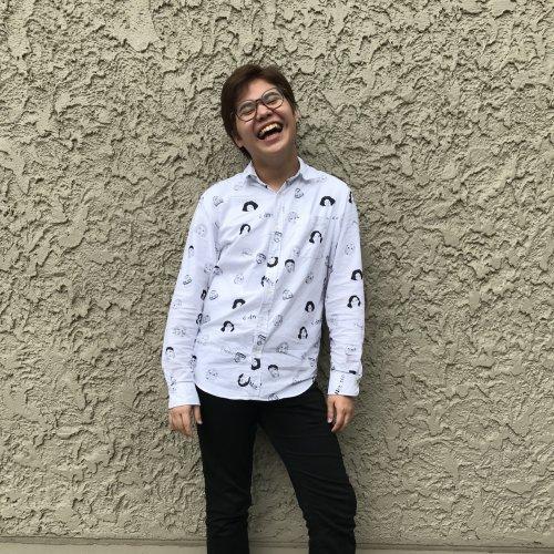 Eric laughing