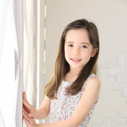 Clara by window
